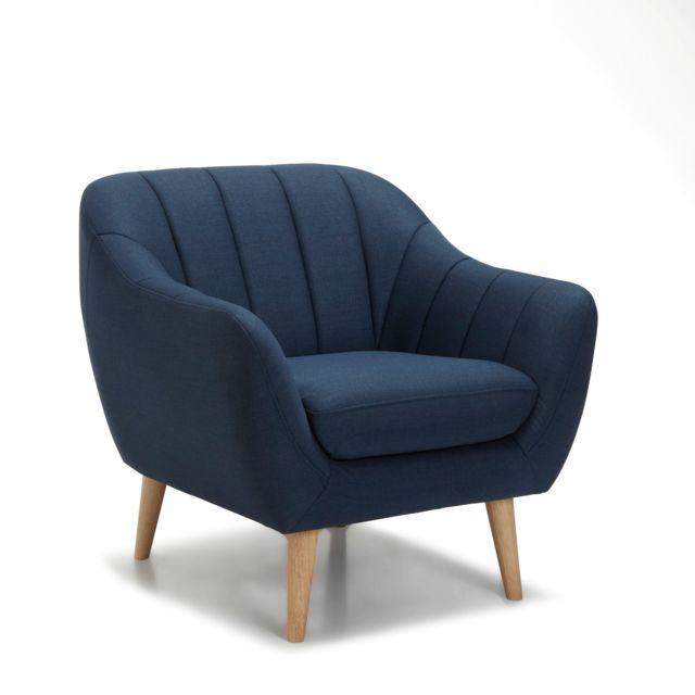 fauteuil bleu canard alinea. Black Bedroom Furniture Sets. Home Design Ideas