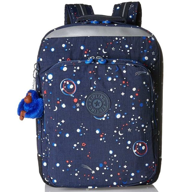 74f3e567cf Kipling - Sac à dos College Up Galaxy Party 42 Cm - pas cher Achat / Vente  Cartables, sacs à dos maternelle - RueDuCommerce