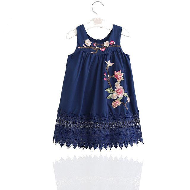 f70e73c002bd3 Glareola - Robe imprimée fleurie pour enfants
