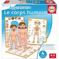 Educa - boîte de jeu : le corps humain