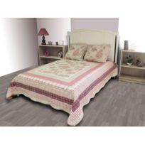 couvre lit boutis achat couvre lit boutis pas cher rue du commerce. Black Bedroom Furniture Sets. Home Design Ideas