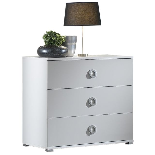 Altobuy Manhattan - Commode 3 Tiroirs