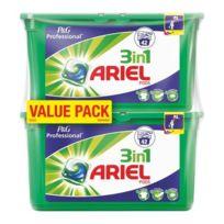 Ariel - Lessive 3 en 1 pods Regulier 2x42 doses