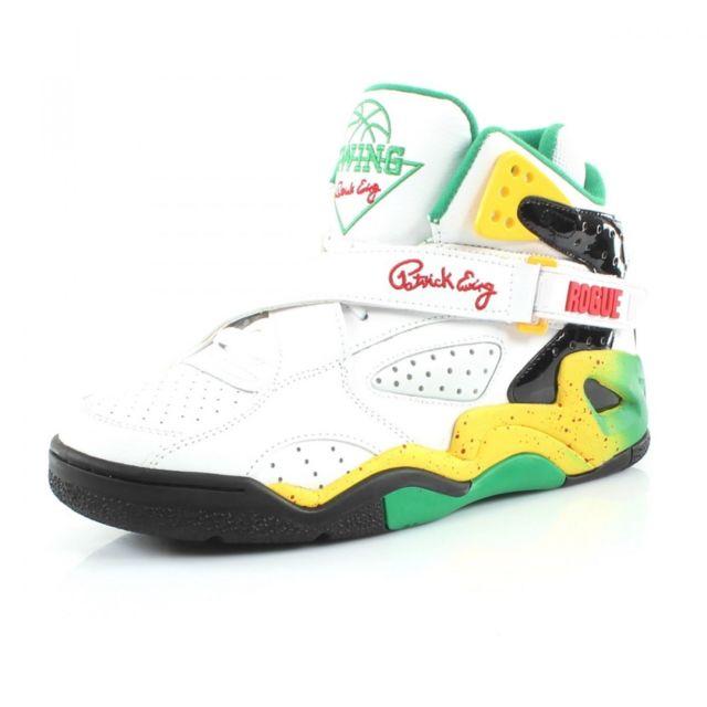64e3ca7a2efa Ewing Athletics - Chaussures de Basketball Rogue Blanc - pas cher Achat / Vente  Chaussures basket - RueDuCommerce