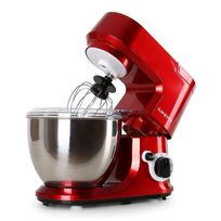 KLARSTEIN - Carina Rossa - Robot de cuisine patissier multifonction 4l 6 vitesses
