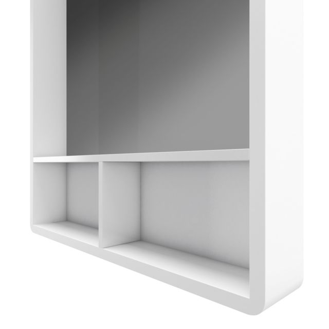 Aurlane Miroir Salle De Bain 50x70cm Avec Etageres Nordik