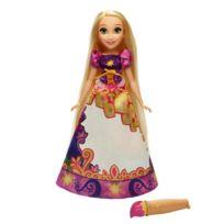 Hasbro - Poupée Disney Princesses : Raiponce robe magique