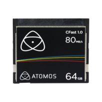 Atomos - Carte Cfast 1.0 - 64 Go 80MB/s - Atomcft064