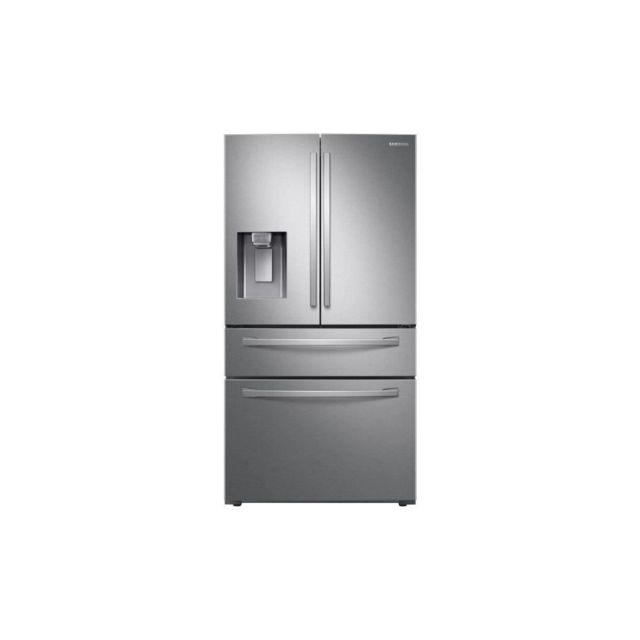 Samsung Rf24r7201sr - Refrigerateur Multiporte - 510 L 348l + 123l + 39l - Froid Ventile Plus - A+ - L90,8cm X H177,7 Cm - Inox