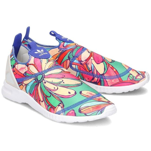 Adidas Zx Flux Smooth Slip On pas cher Achat Vente
