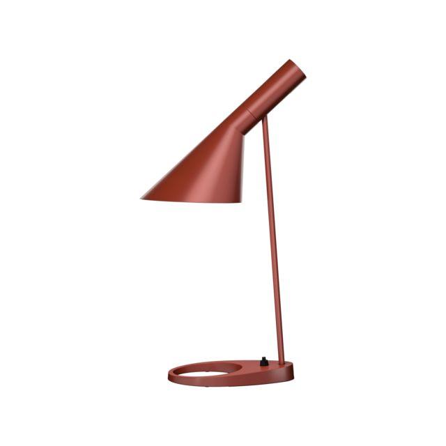 Louis Poulsen Lampe de table Aj - rouge rouille