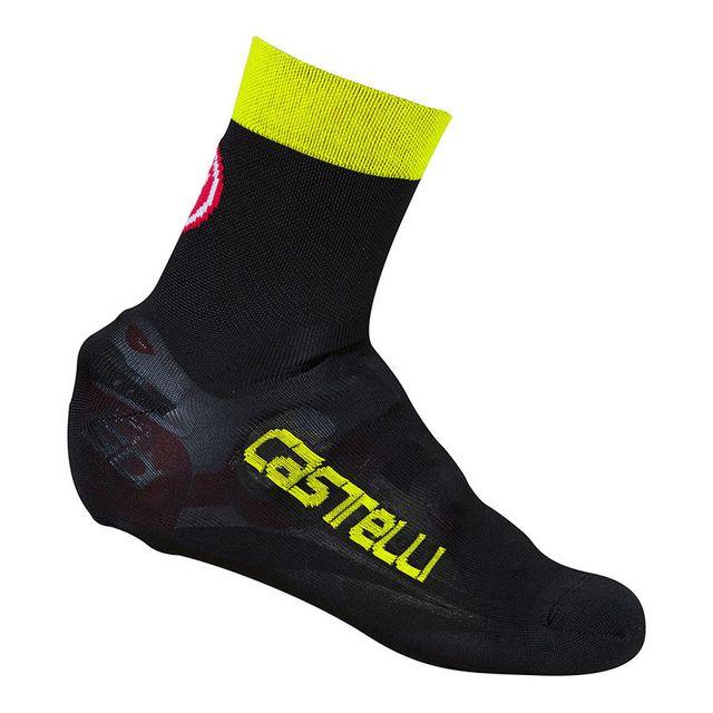 Castelli Sur-chaussures Belgian Bootie 5 noir jaune