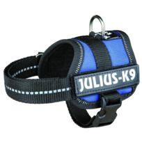 Julius K9 - Julius-k9 Harnais Power Baby 1/XS- 30?40cm bleu pour chien