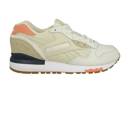 36fd6374f07c0 Reebok - Chaussures Lx 8500 Shades Chalk White Pink W - pas cher Achat    Vente Baskets femme - RueDuCommerce