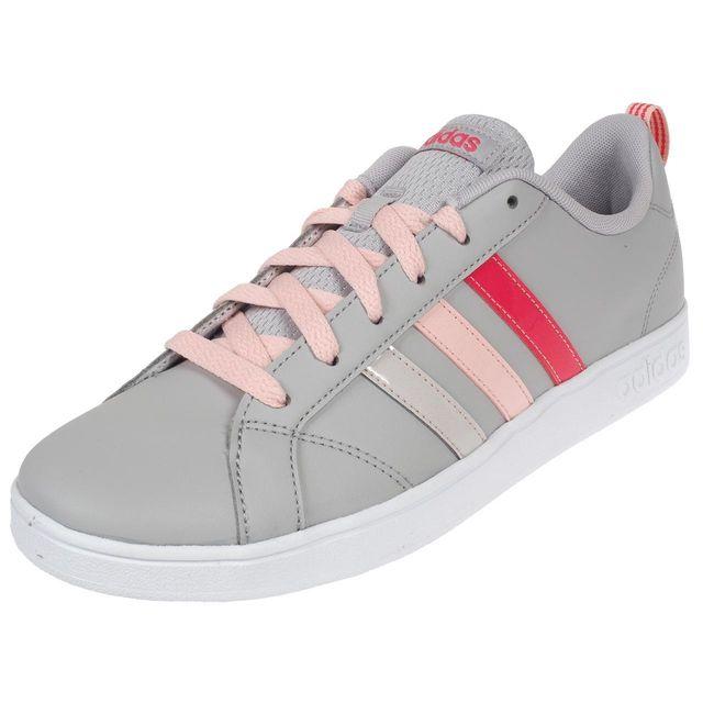 Adidas Neo Chaussures mode ville Vs advantage k Gris 74373