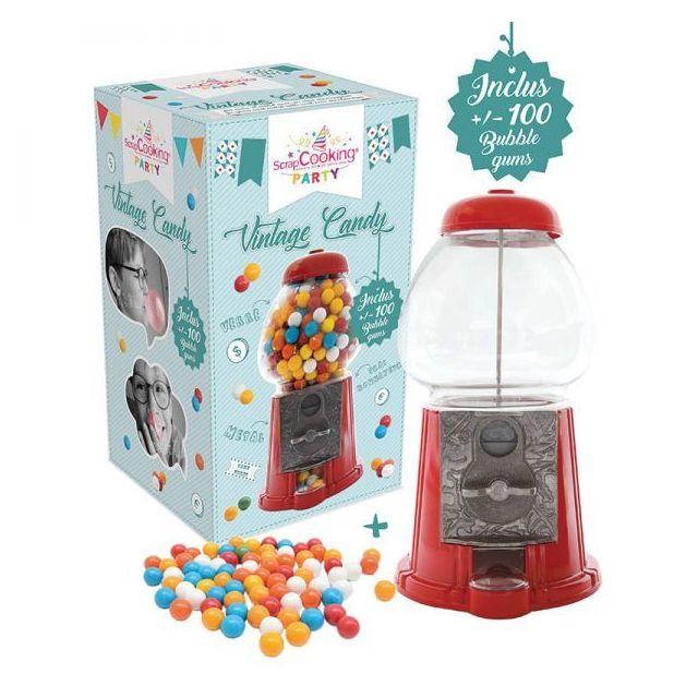 Scrapcooking - Distributeur de bonbons 'Vintage Candy