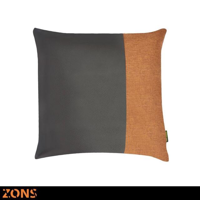 Zons Malton Coussin 45x45 Cm 6 Couleurs Rembourrage 450g