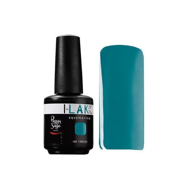peggy sage vernis semi permanent i lak 15ml aquamarine. Black Bedroom Furniture Sets. Home Design Ideas