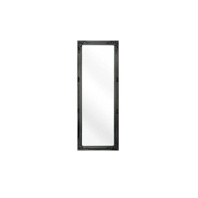 BELIANI Miroir noir 50 x 130 cm FOUGERES - noir