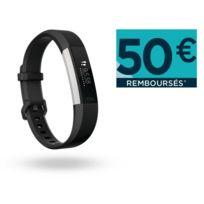 FITBIT - Alta HR - Noir - Bracelet Taille L