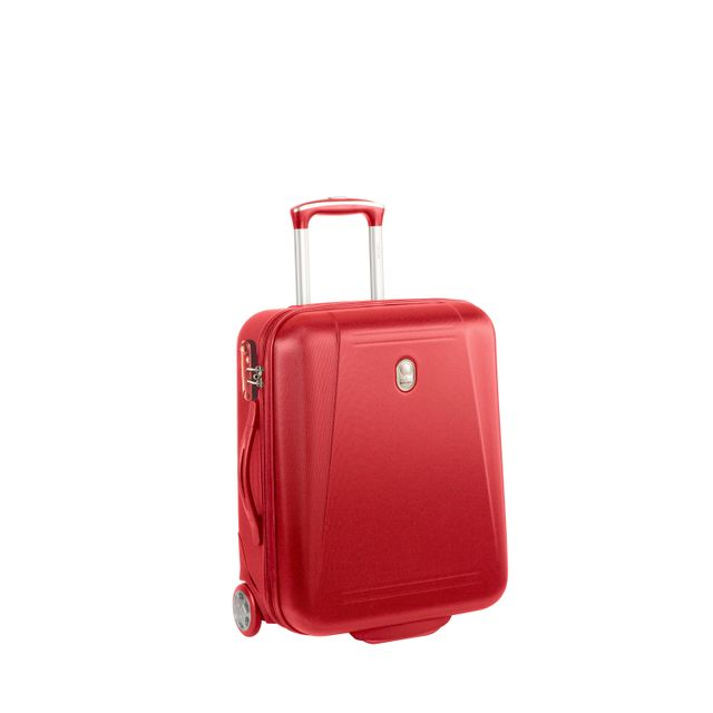 df34418491 DELSEY - REFLECTION - Valise cabine - 2 roues - 50cm - Rouge - 3219110355741