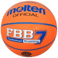 MOLTEN - Ballon de basket Fbb7 tech training Orange 41646