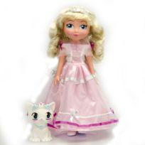 Lgri - Poupée Princesse Chloé et son chaton