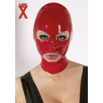 Late X - Masque Latex Rouge