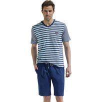 Athéna - Pyjama homme court Color