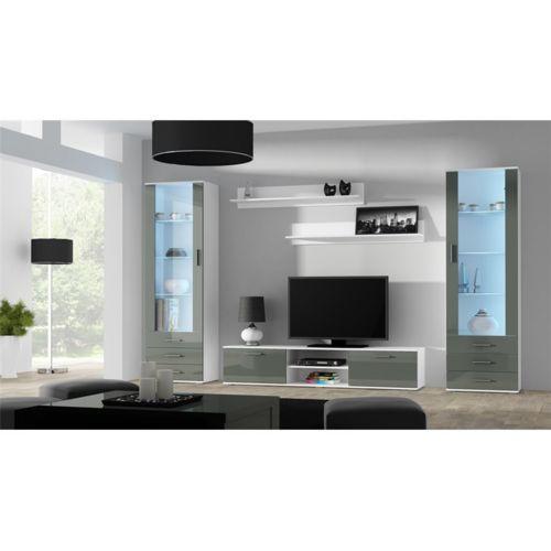 Soldes chloe design ensemble meuble tv design sano 4 for Meuble chloe