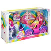 Barbie - Carrosse arc-en-ciel - DPY38