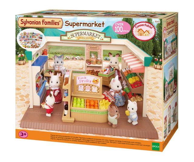 sylvanian families supermarch sylvanian 5049 pas cher achat vente pet shop rueducommerce. Black Bedroom Furniture Sets. Home Design Ideas