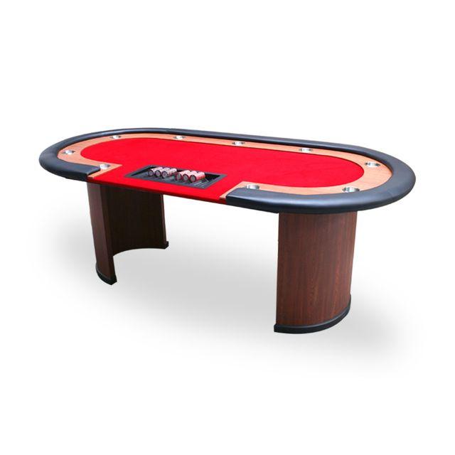 Pokeo Table Nevada 4 Dealer racetrack rouge