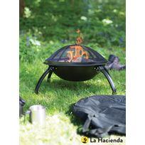La Hacienda - Braséro Camp Grille de cuisson + pare étincelles