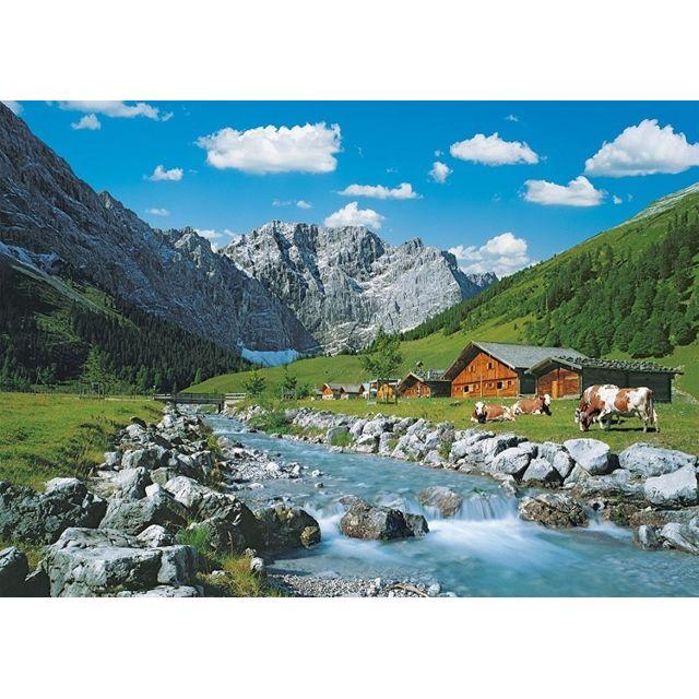 ravensburger puzzle adulte autriche la montagne de. Black Bedroom Furniture Sets. Home Design Ideas