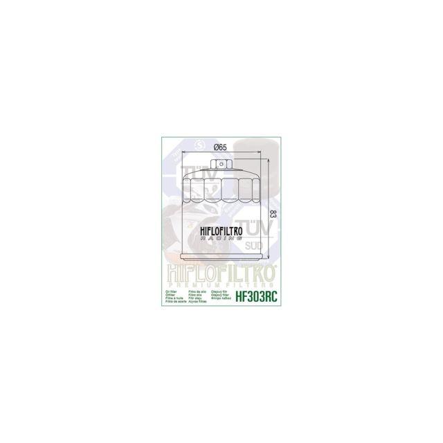 THUNDERCAT Compatible avec R6 R1 YZF 750 FILTRE A HUILE THUNDERACE HF303