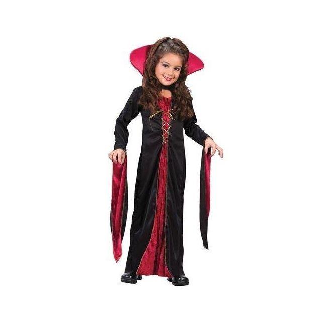 Fun World Victorian Vampiress Kids Costume - Small