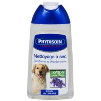 Phytosoin - lotion nettoyage a sec 250 ml chiens