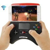 Wewoo - Manette iPhone noir pour / iPad / iPod / Samsung / Htc / Moto / Android Tv Box / Tv / Pc Bluetooth Touch Gamepad