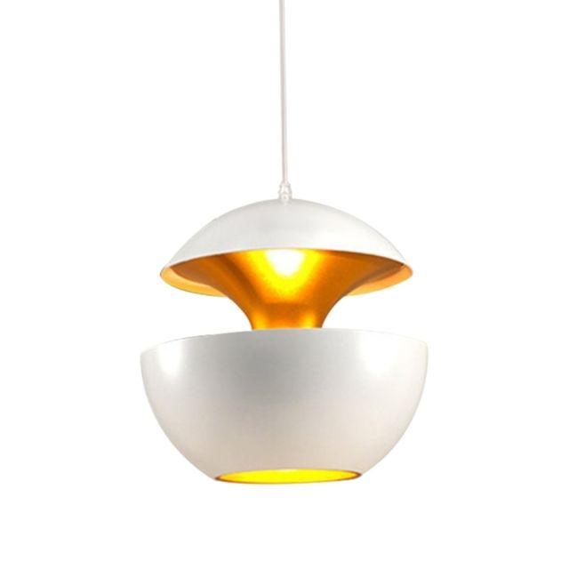Lampe suspendue Luminaire Salon Moderne Style Minimaliste Chambre De Chevet Restaurant Bar Personnalité Créatrice Mode Tête Simple Apple Petit Lustre