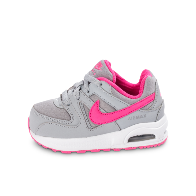 mode designer ea3ec 9665e Nike - Air Max Command Bébé Grise Et Rose 27 - pas cher ...