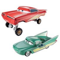 Mattel - Cars - Cars Flash Ramone Hydraulique et Pit Crew Member Flo