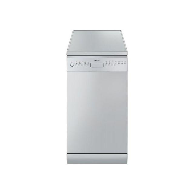 SMEG Lave-Vaisselle 45cm LSA4513G LSA 4513 G, Gris métal