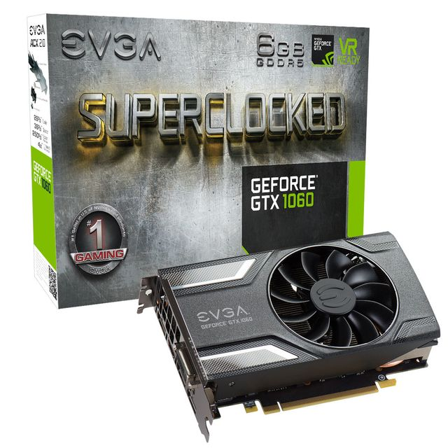 EVGA GeForce GTX 1060 SC Gaming ACX 3.0