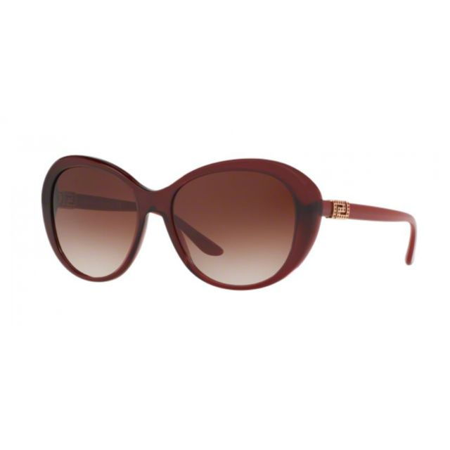 Versace - 4324B 109 13 - Lunettes de soleil femme Rouge - pas cher ... 7433987d3802