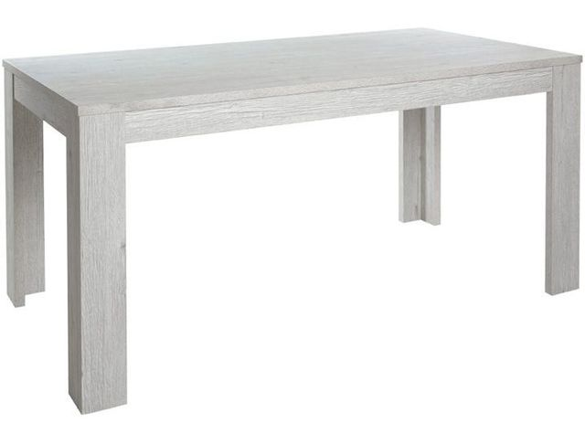 Comforium Table fixe contemporaine 160 cm coloris Pesaro