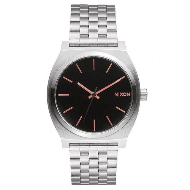 Nixon montre time teller gray rose gold