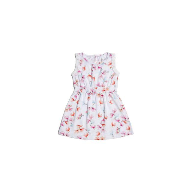 d0a63fa8be62e Guess - Robe Fille à Fleur Blanc - Taille - 3 ans - pas cher Achat ...