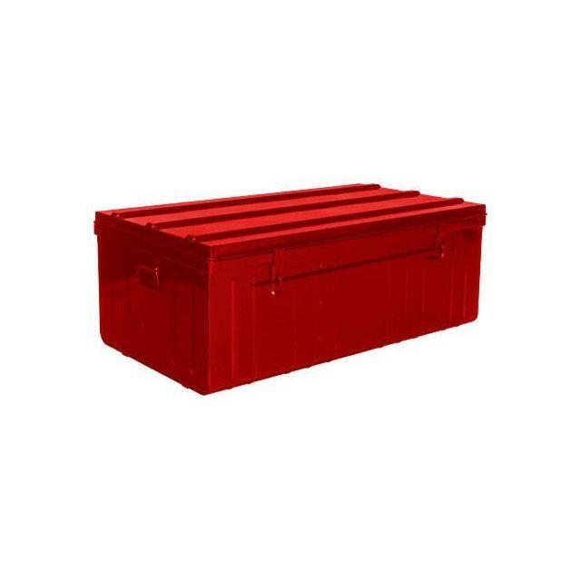 Pierre Henry Malle De Rangement En Metal Rouge 175 Litres Pas Cher Achat Vente Malles Coffres Rueducommerce