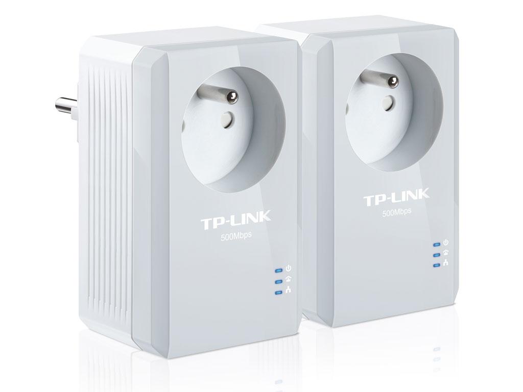 Pack de 2 Mini Adaptateurs CPL 500 Mbps TL-PA4015PKIT